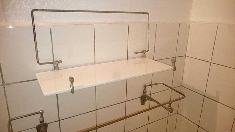 półki łazienkowe