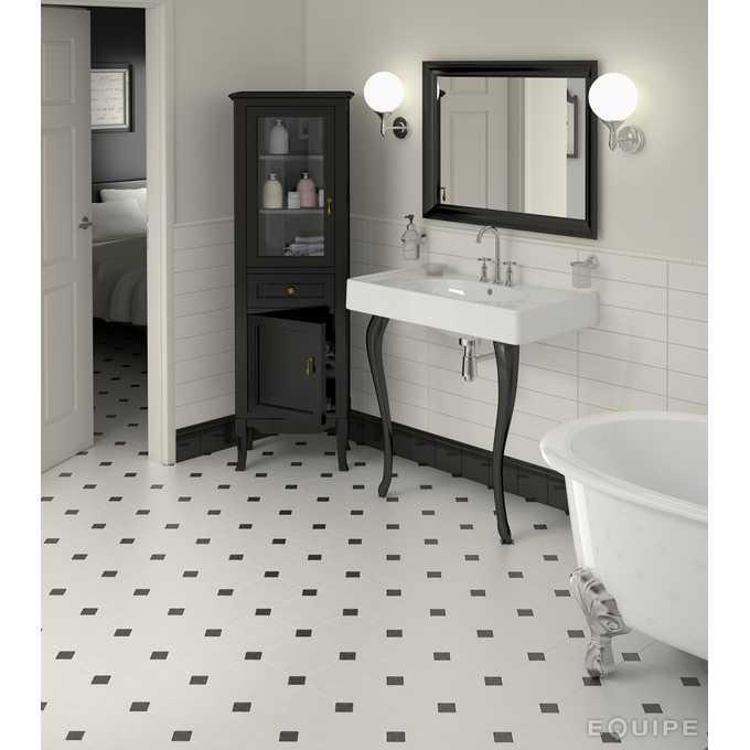 oktagonalne płytki w łazience