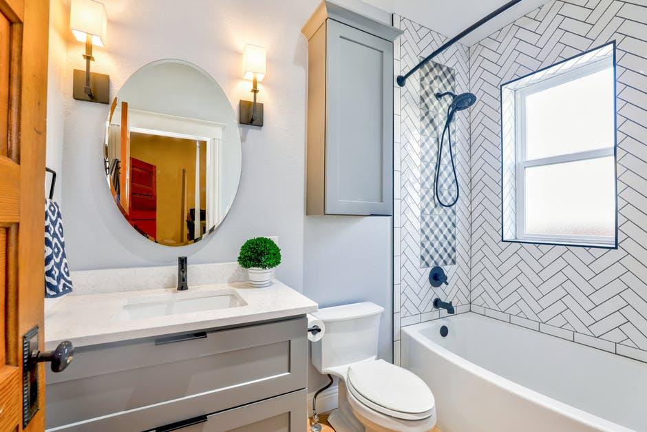 gustowna łazienka w bloku